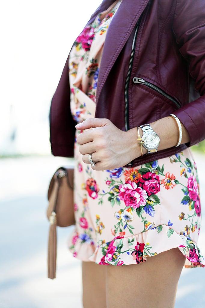 Blame it on Mei Miami Fashion Blogger Fall 2015 D&G sunglasses Nasty Gal floral romper Henri Bendel necklace Ring Tiffany bracelet Gucci Soho Christian Louboutin pumps