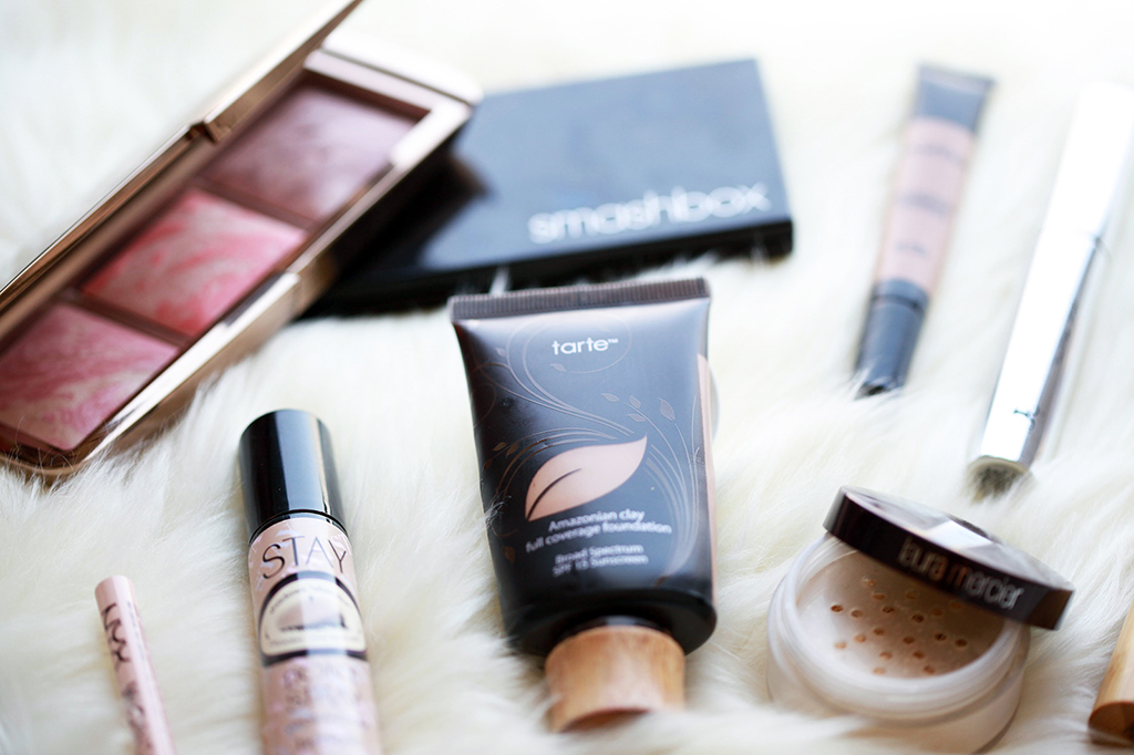 Blame it on Mei Fall 2015 Must Have Makeup Products Tarte Smashbox Laura Mercier Anastasia Beverly Hills Benefits Hourglass Urban Decay