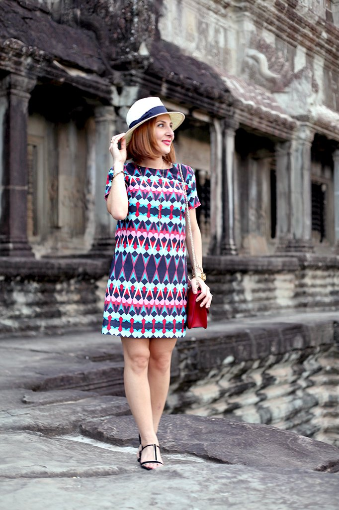 1-25-16-Blame-it-on-Mei-Miami-Fashion-Travel-Blogger-Cambodia-Angkor-Wat-Siem-Reap-Geometric-Shift-Dress-Panama-Hat-Valentino-Rockstud-Crossbody-Travel-Outfit-Look