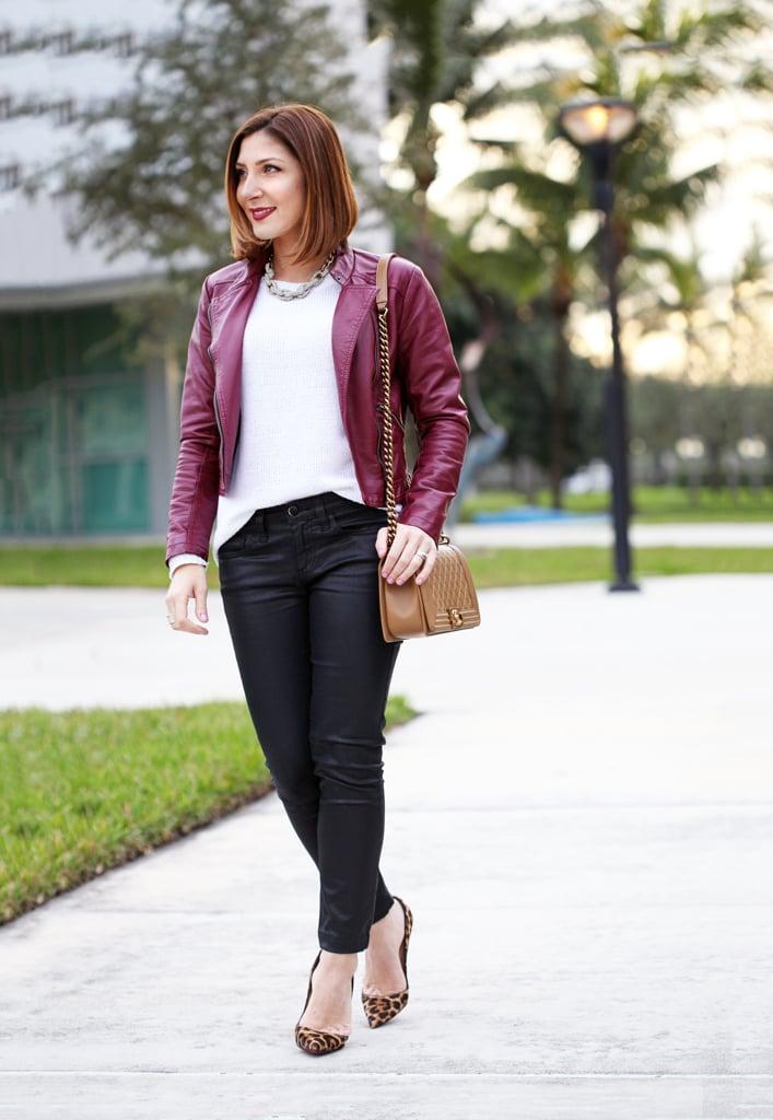 2-17-16-Blame-it-on-Mei-Fashion-Blogger-2016-Winter-Burgandy-Oxblood-Moto-Jacket-Leopard--Louboutin-Pumps-Chanel-Boy-Small-Coated-Jeans