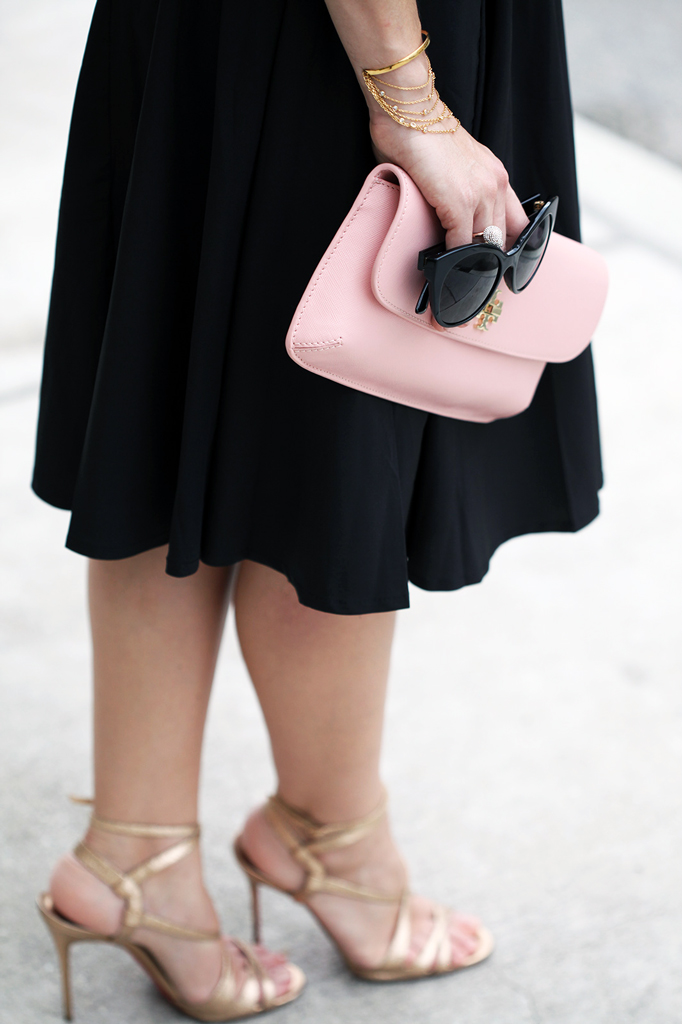 2-5-16-Blame-it-on-Mei-Fashion-Blogger-2016-Valentine-Day-Inspiration-Idea-Rose-Quartz-Blush-Crop-Top-Pleated-Skirt-Tory-Burch-Clutch-Pearl-Necklace-Louboutin-Metallic-Gold-Sandals-MiuMiu-Sunglasses