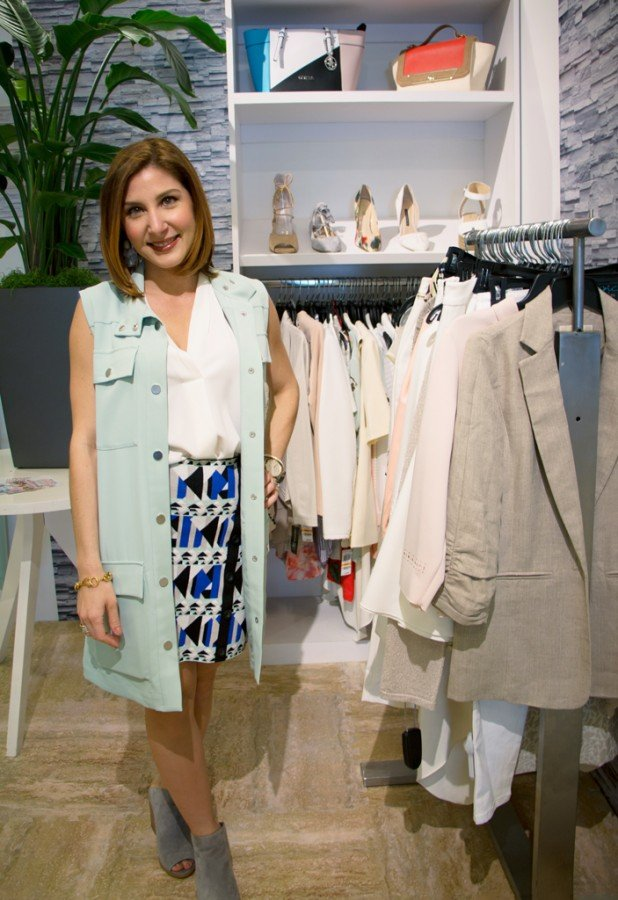 3-25-16-Blame-it-on-Mei-Miami-Fashion-Blogger-2016-Macys-Event-Collaboration-Geometric-Print-Skirt-Long-Vest-Steve-Madden-Booties-