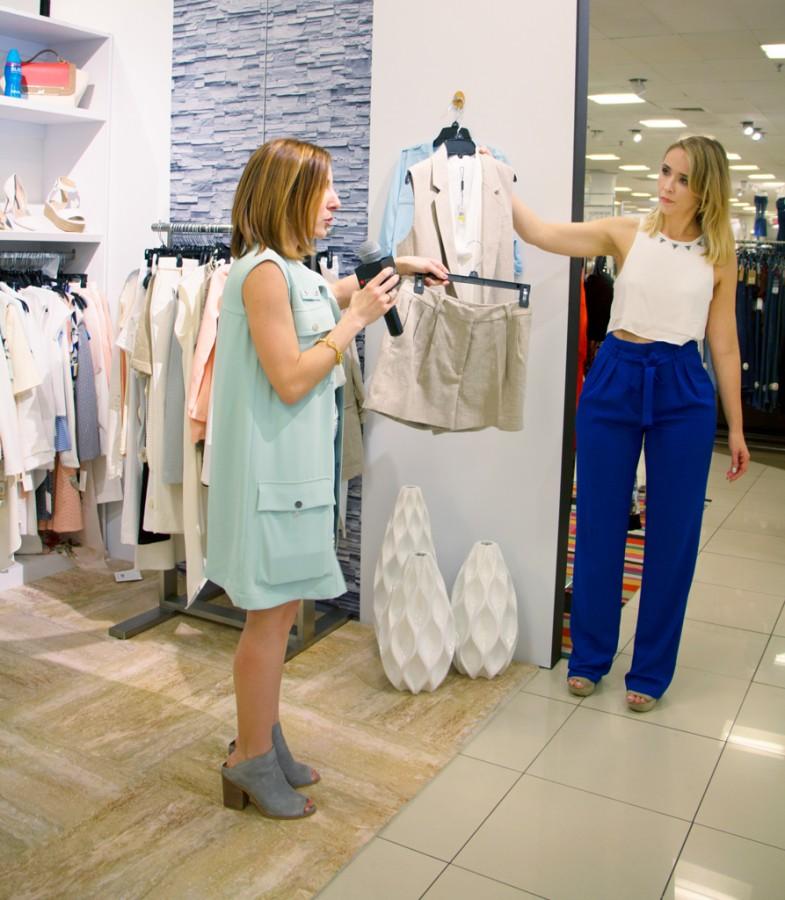 3-25-16-Blame-it-on-Mei-Miami-Fashion-Blogger-2016-Macys-Event-Collaboration-Geometric-Print-Skirt-Long-Vest-Steve-Madden-Booties