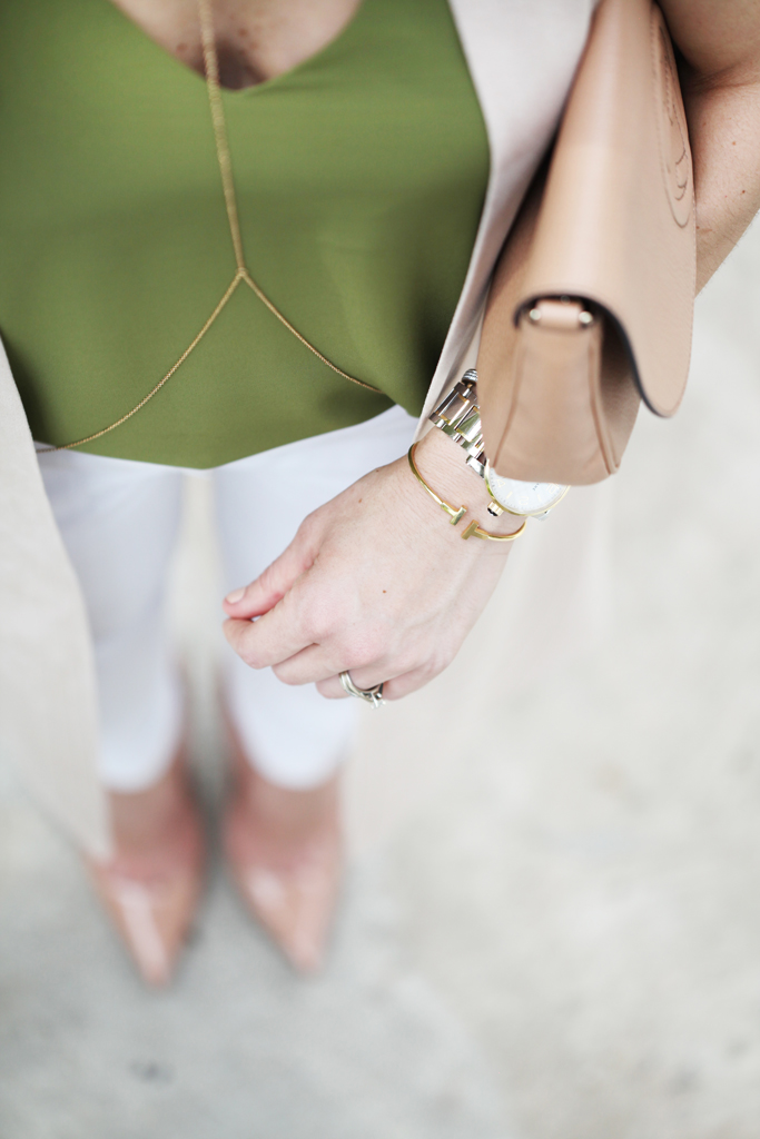 Blame-it-on-Mei-Miami-Fashion-Blogger-2016-Spring-Outfit-Idea-Look-Inspiration-Long-Vest-White-Pants-Louboutin-Nude-Heels-Gucci-Soho-Crossbody-Body-Chain