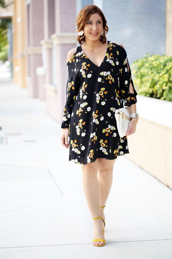 5-2-16-Blame-it-on-Mei-Miami-Fashion-Blogger-2016-Spring-Outfit-Look-Floral-Dress-White-Henri-Bendel-Debutante-Tassel-Clutch-Baublebar-Geranium-Earrings-Steve-Madden-Carrson-Yellow-Sandals-1-1024