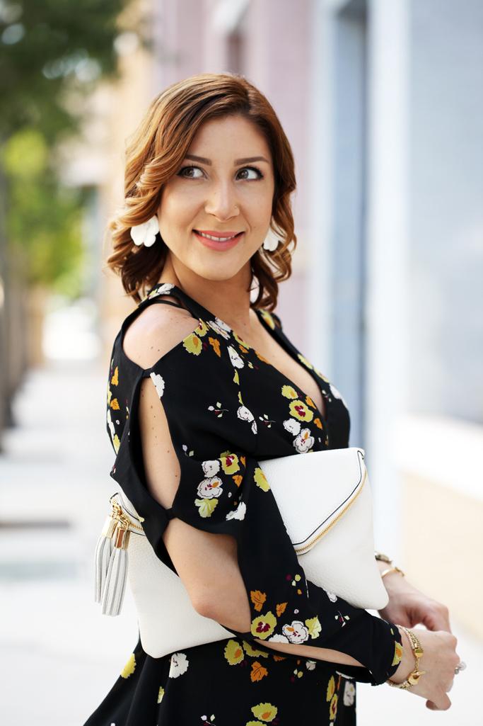 5-2-16-Blame-it-on-Mei-Miami-Fashion-Blogger-2016-Spring-Outfit-Look-Floral-Dress-White-Henri-Bendel-Debutante-Tassel-Clutch-Baublebar-Geranium-Earrings-Steve-Madden-Carrson-Yellow-Sandals-6-1024