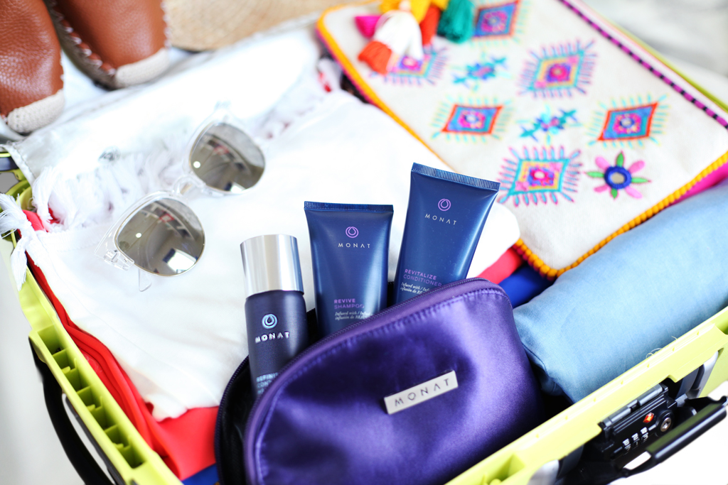 Blame-it-on-Mei-Miami-Fashion-Blogger-2016-Vacation--Travel-Size-MONAT-Kit-Revitalize-Conditioner-Revive-Shampoo-Refinish-Hair-Spray
