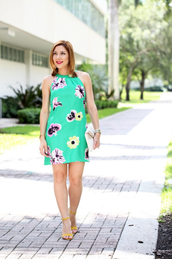 Blame-it-on-Mei-Miami-Fashion-Blogger-2016-Summer-Outfit-Floral-Dress-Yellow-Carrson-Block-Heels-Henri-Bendel-Debutante-Tassel-Clutch-Baublebar-Tassel-Earrings