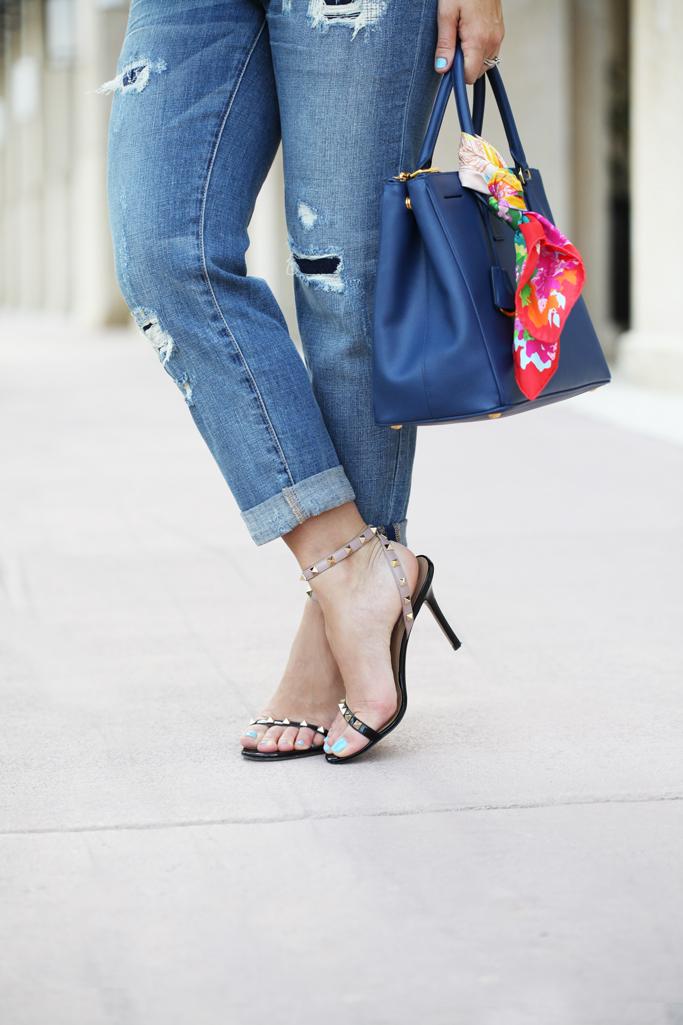Blame-it-on-Mei-Miami-Fashion-Blogger-2016-White-Linen-Cami-Casual-Outfit-Summer-Look-Boyfriend-Jeans-Prada-Handbag-Rocksbox-Necklace-Valentino-Rockstud-Sandal-Soft-Waves-Short-Hair