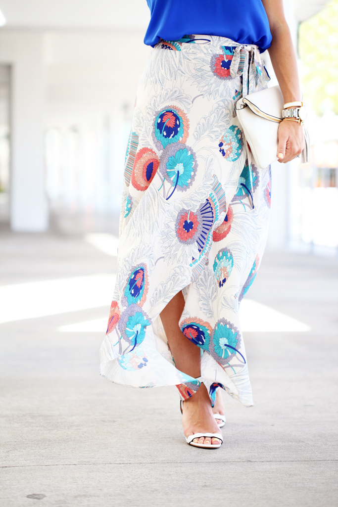9-26-16-blame-it-on-mei-miami-fashion-blogger-2016-floral-long-maxi-skirt-bright-cami-top-baublebar-white-pinata-tassel-earrings-henri-bendel-debutante-clutch-transition-outfit-date-night-look-6