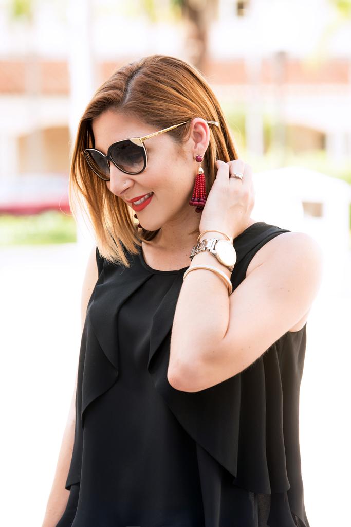 Blame-it-on-Mei-Miami-Fashion-Blogger-2016-Transition-to-Fall-in-Miami-Black-Flowy-Top-Denim-Boyfriend-Jeans-Givenchy-Antigona-Louboutin-Leopard