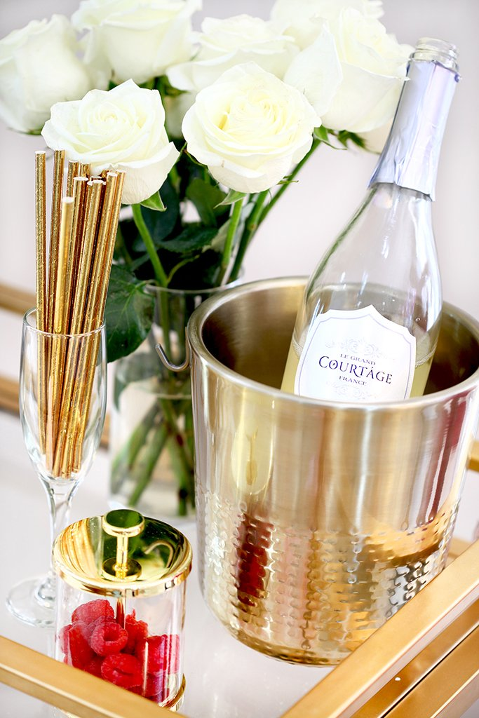 Blame-it-on-Mei-Miami-Fashion-Blogger-2017-Valentines-Day-Look-Galentines-Cocktails-Party-with-Le-Grand-Courtage-Champagne-Gold-Straw-Ice-Bucket