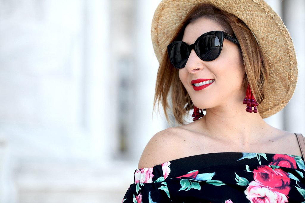 Blame-it-on-Mei-Miami-Fashion-Blogger-Travel-Blog-2017-Casual-Summer-Look-Spring-Outfit-Floral-Dress-with-Boater-Hat-Gucci-Soho-Puerto-Rico-
