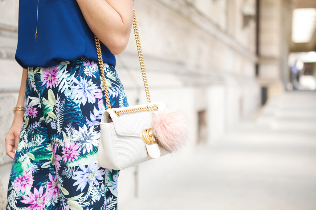 Blame it on Mei, @blameitonmei, Miami Fashion Blogger, Berlin Travel Look, Floral Pants with Cami, Reichstag Building