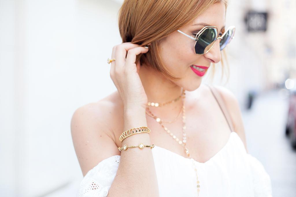 \Blame it on Mei, @blameitonmei, Miami Fashion Blogger, Summer Travel Look, Eyelet Top, Denim Skirt, Prague, Czech Republic