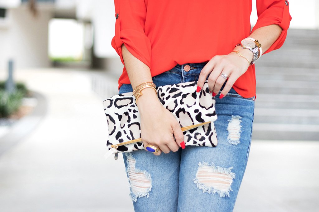 Blame it on Mei, @blameitonmei, Miami Fashion Blogger, Summer Look, Clare V Pink Leopard,