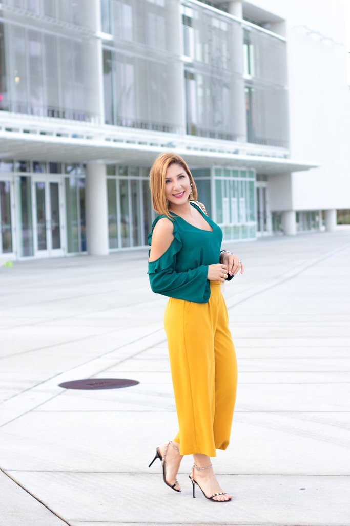 Blame it on Mei @blameitonmei, Miami fashion blogger, how to color block, Gucci marmont