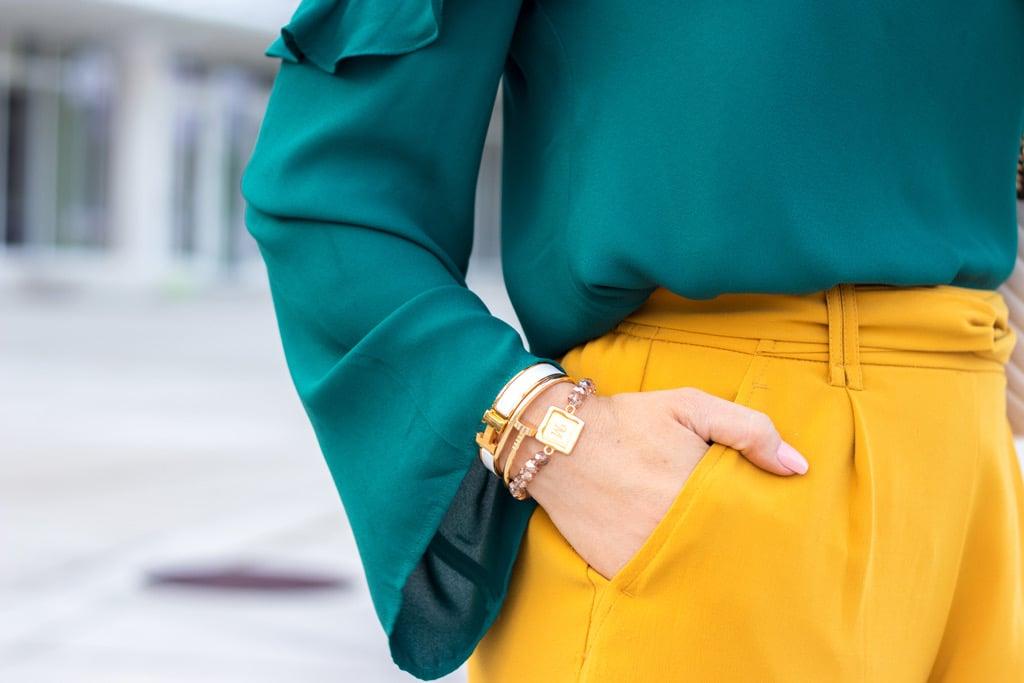 Blame it on Mei @blameitonmei, Miami fashion blogger, how to color block, Gucci marmont