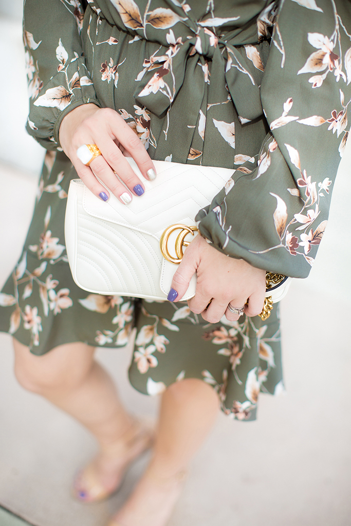 Blame it on Mei, @blameitonmei, Miami Fashion Blogger, Floral Wrap Dress