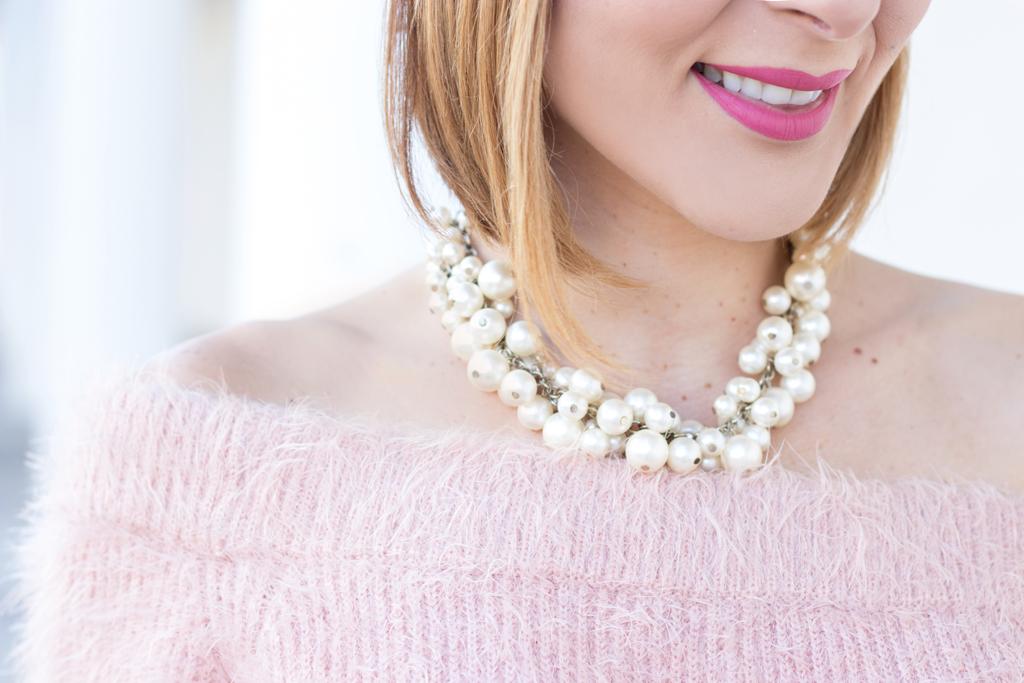 Blame it on Mei, @blameitonmei, Miami Fashion Blogger, Metallic Pleated Skirt