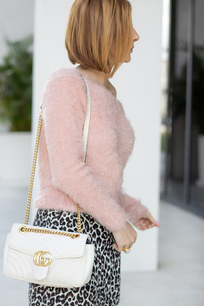 Blame it on Mei, @blameitonmei, Miami Fashion Blogger, Leopard Mini Skirt With OTK Boots