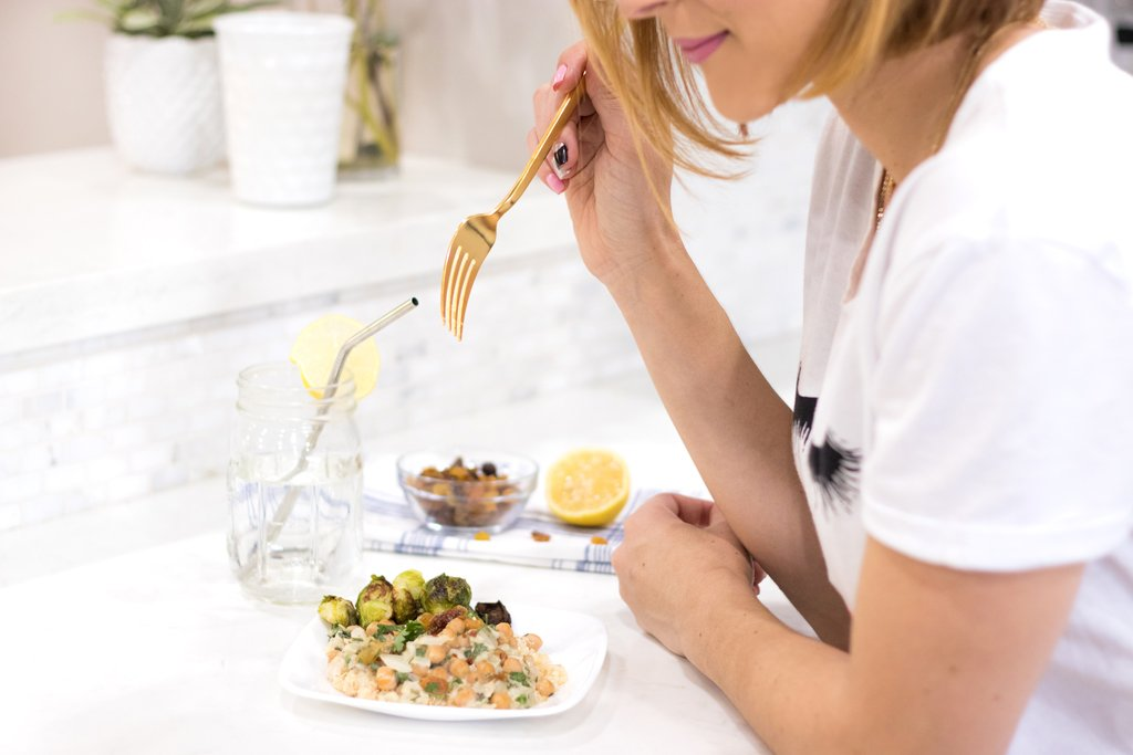 Blame it on Mei, @blameitonmei, Miami Fashion Blogger, Healthy Recipe Chickpeas With Quinoa