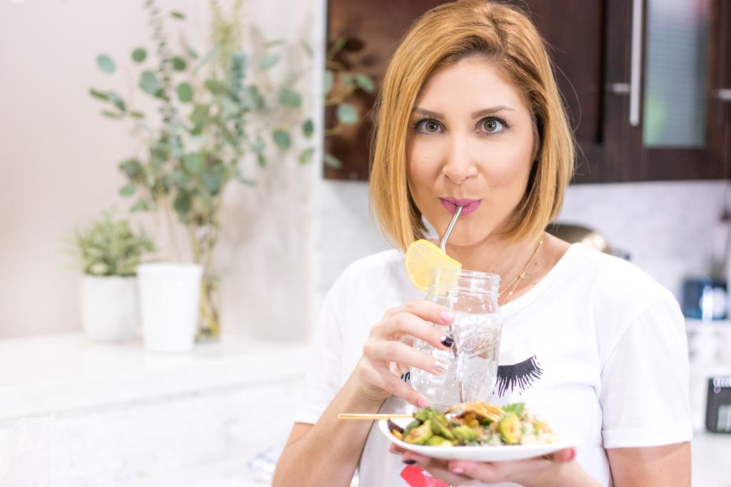 Blame it on Mei, @blameitonmei, Miami Fashion Blogger, Healthy Recipe Chickpeas With Quinoa