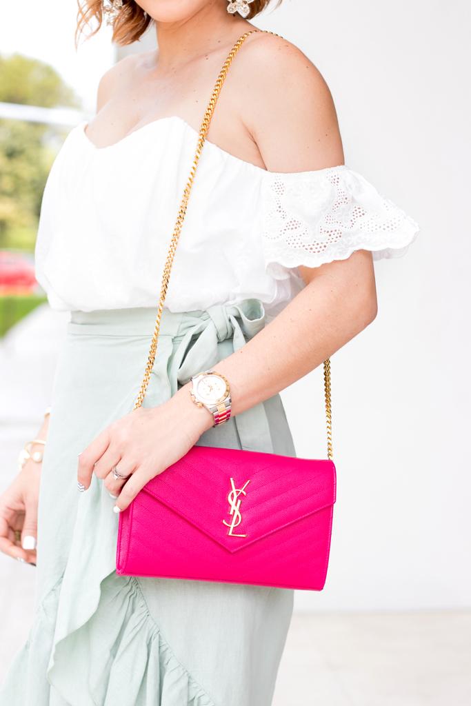 Blame it on Mei, @blameitonmei, Miami Fashion Blogger, ruffle skirt, Veuve Clicquot Carnaval