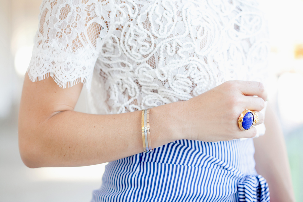 Blame it on Mei, @blameitonmei, Miami Fashion Blogger, stripe culottes