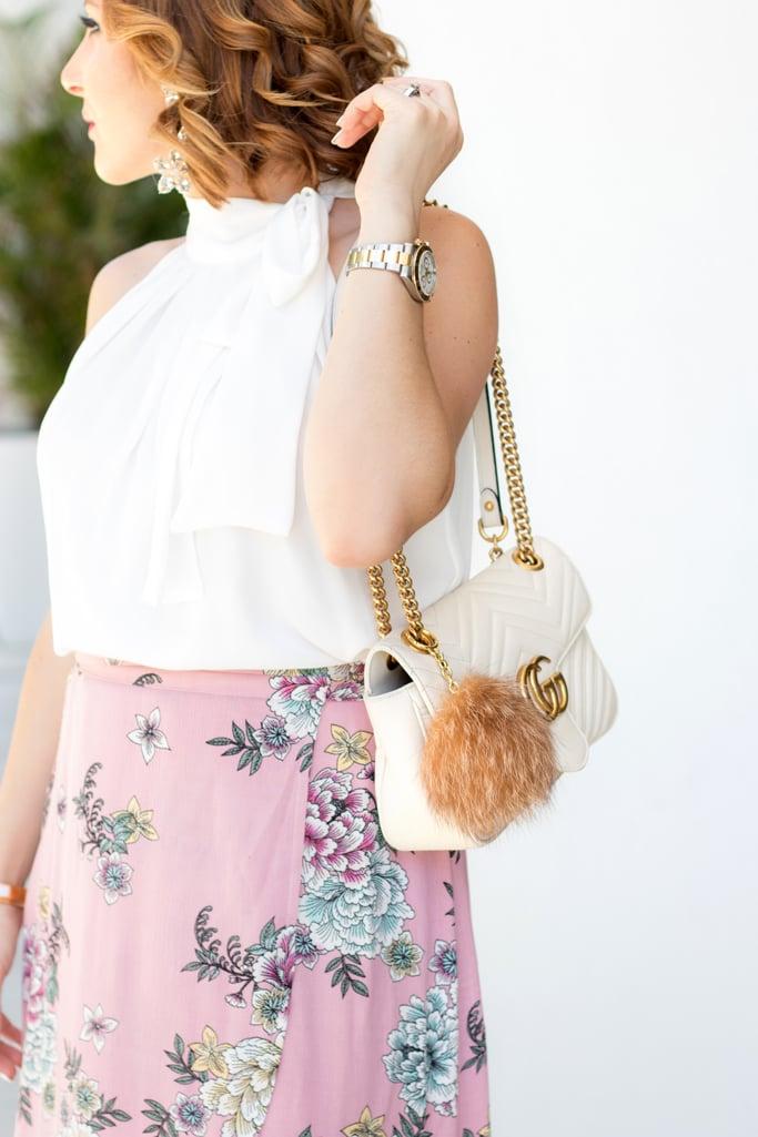 Blame it on Mei, @blameitonmei, Miami Fashion Blogger, floral wrap skirt, maternity outfit