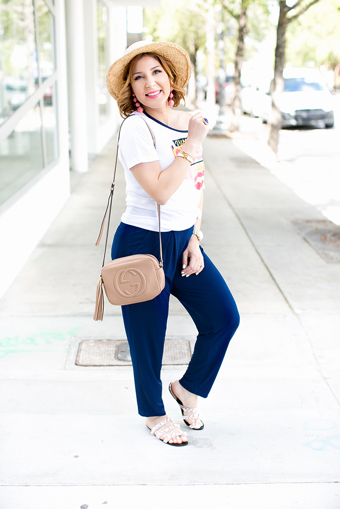 Blame it on Mei, @blameitonmei, Miami Fashion Blogger, graphic t-shirt, eva mendes collection, ny&co