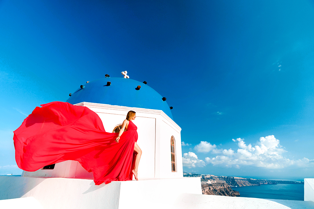 Blame it on Mei,@blameitonmei, Miami Fashion Travel Blogger, Maternity Photo Session, Red Santorini Dress
