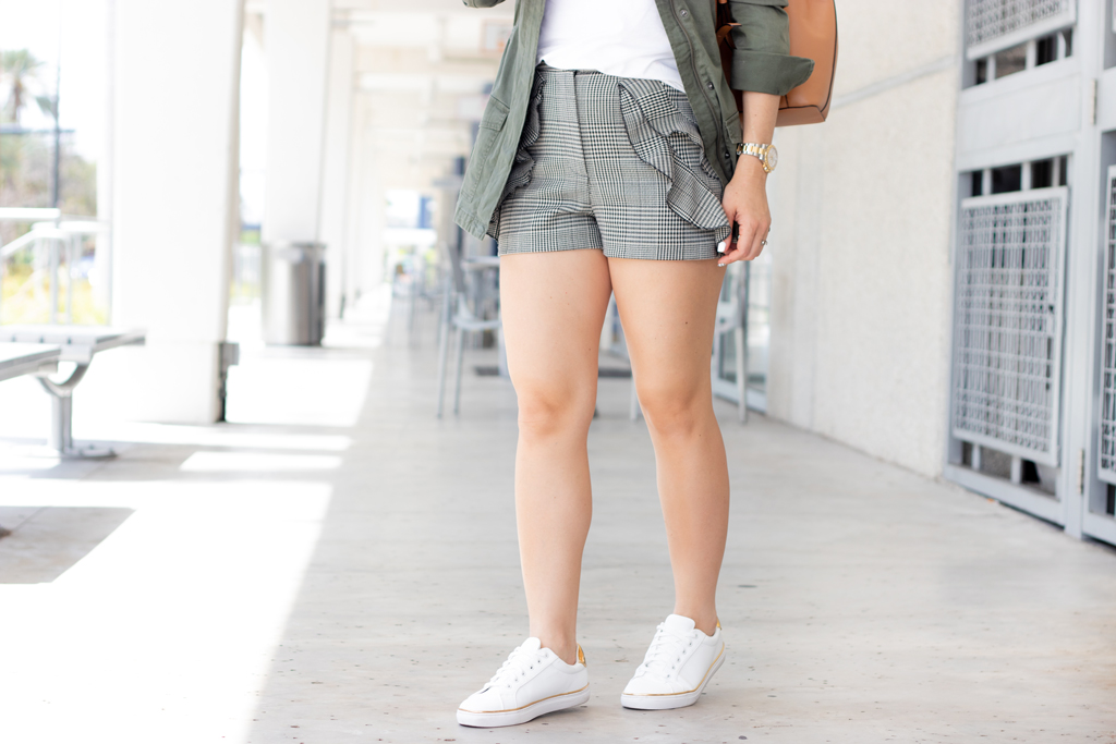 Blame it on Mei, @blameitonmei, Miami Fashion Style Blogger, Utility Jacket, Softest White Tshirt