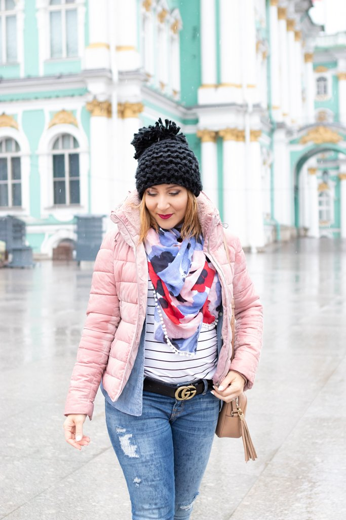 Blame it on Mei, @blameitonmei Miami Fashion Travel Blogger, Maternity Travel Look, Outfit Russia Travel Guide, What To Do In Russia