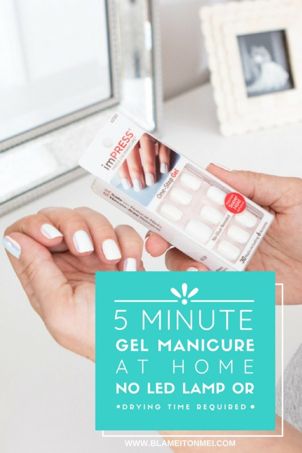 Blame it on Mei, @blameitonmei, Miami Fashion Blogger, How to 5 Minute Gel Manicure at home