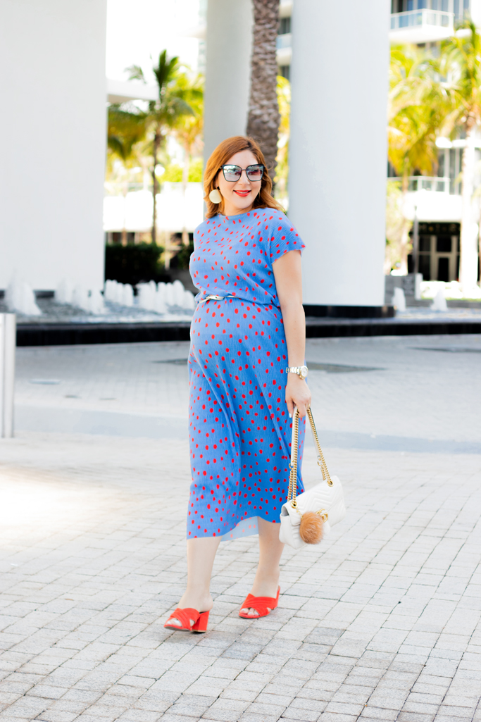Blame it on Mei, @blameitonmei, Miami Fashion Blogger, Maternity Look Outfit, Versatile Dress