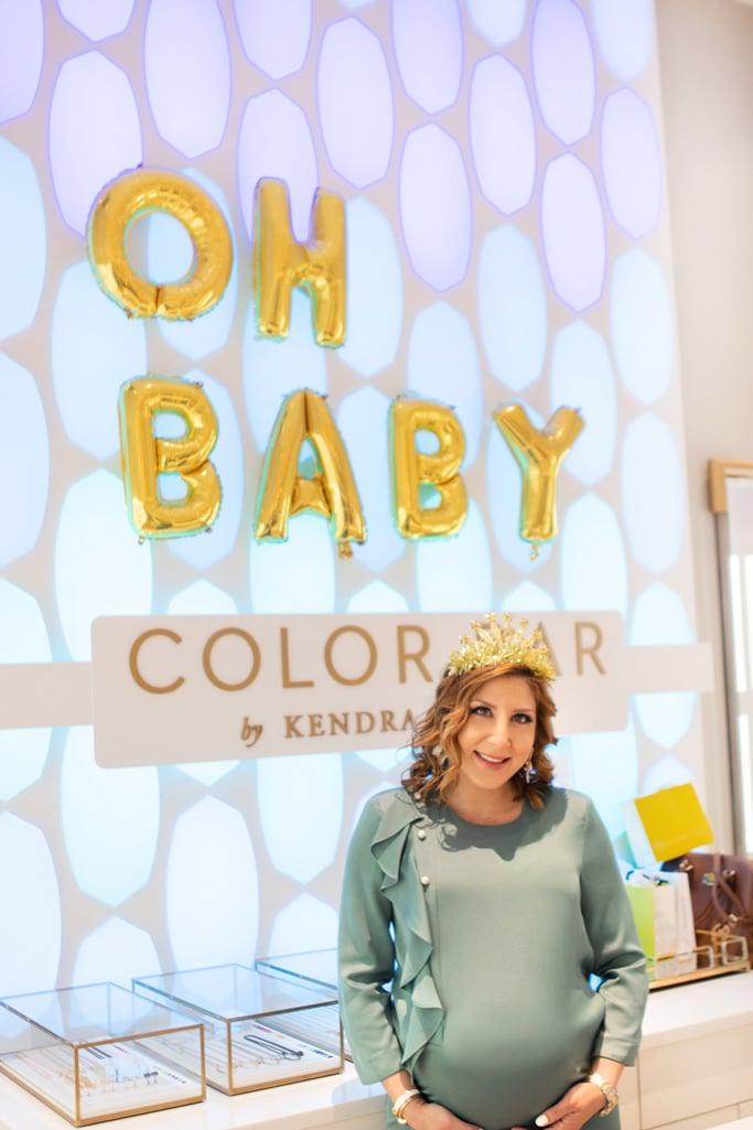 Blame it on Mei, @blameitonmei, Miami Fashion Blogger, Maternity Look, Baby Shower Kendra Scott