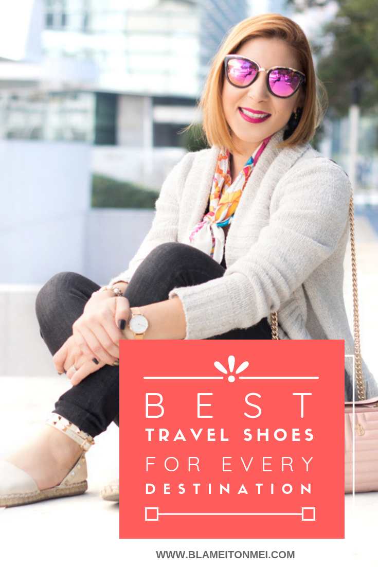 Blame it on Mei, Miami Fashion Travel Blogger, Best Travel Shoes
