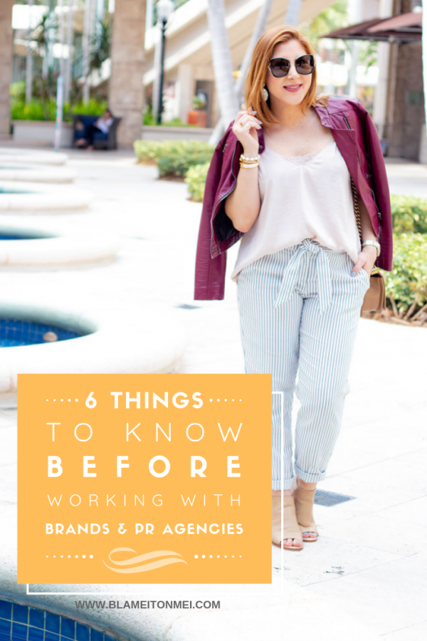 Blame it on Mei, Miami Fashion Mommy Blogger, Working With Brands, How To Wear Moto Jacket