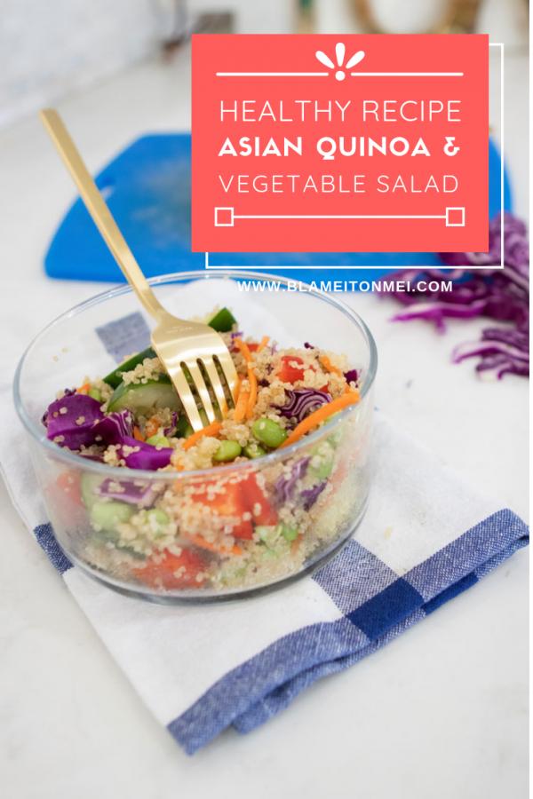 Blame it on Mei, Miami Lifestyle Blogger, Easy Asian Salad