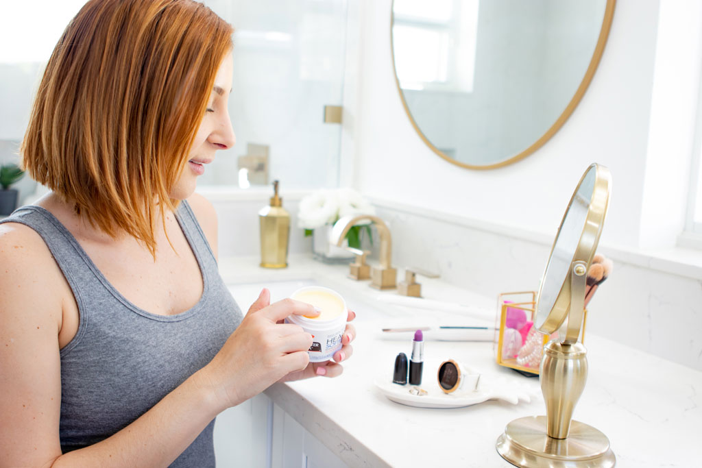 Blame it on Mei, Miami Fashion Blogger, solution for dry skin, Palmer's Cocoa Butter Solid Jar