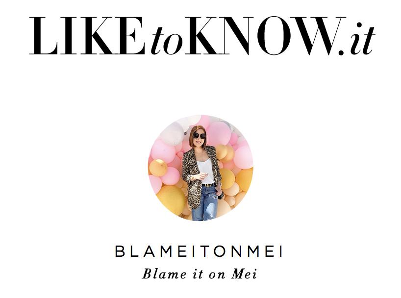 @blameitomei, Blame it on Mei, Instagram profile picture