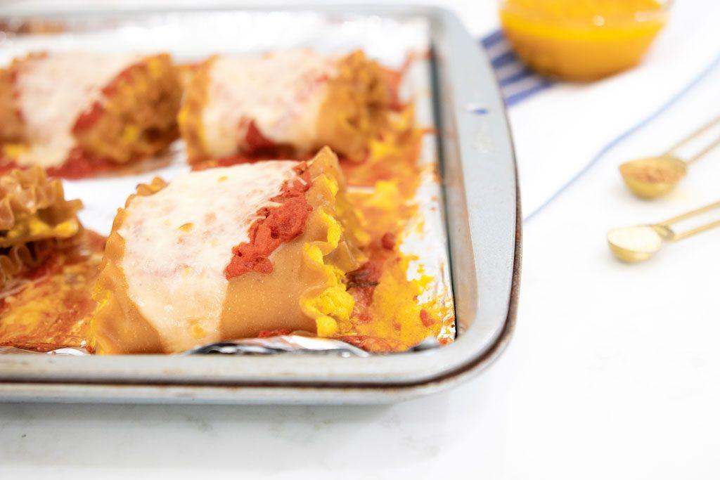 Blame it on Mei, @blameitonmei, Miami Lifestyle Blogger, Healthy Lasagna Recipe, Meatless Pumpkin Rolls