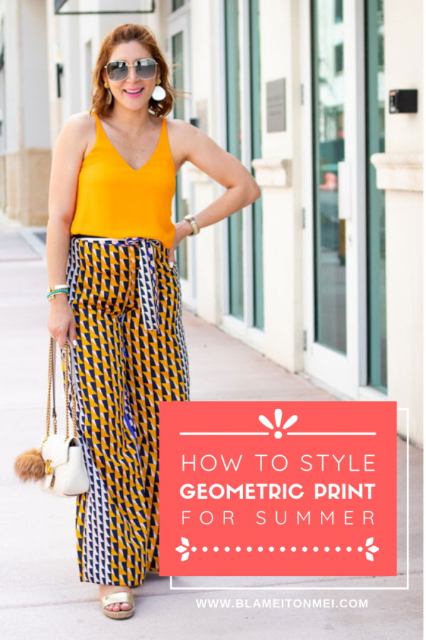Blame it on Mei, @blameitonmei, Miami Fashion Mommy Blogger, how to style patterns