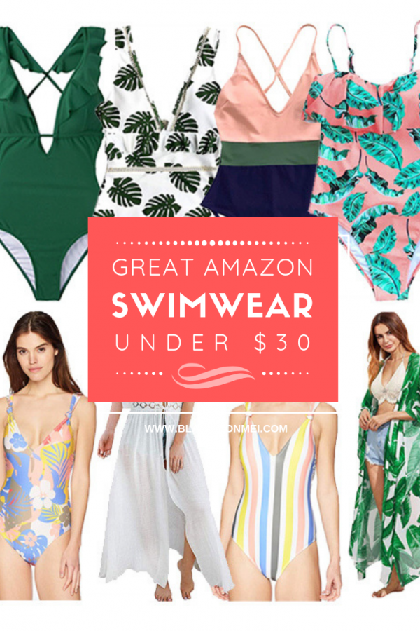 Blame it on Mei, @blameitonmei, Miami Fashion Mommy Blogger, Amazon Bathing Suits under 30