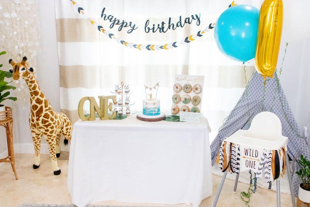 Blame it on Mei, @blameitonmei, Miami Fashion Mom Blogger, Boy Wild One Birthday Party