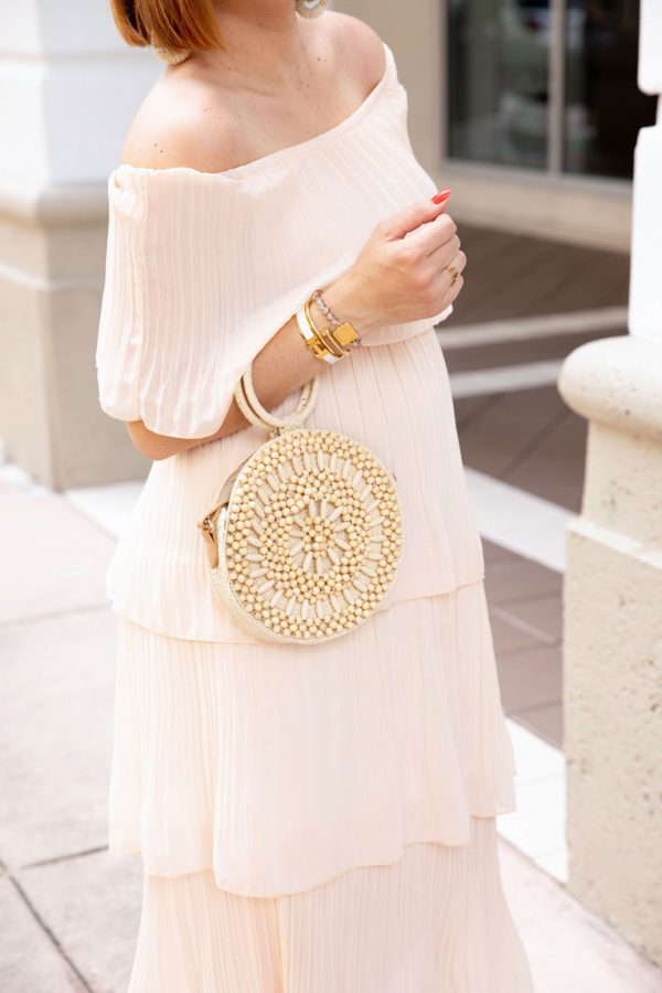 Blame it on Mei, @blameitonmei, Miami Fashion Mom Blogger, best amazon dress, under $30, pregnant maternity look outfit