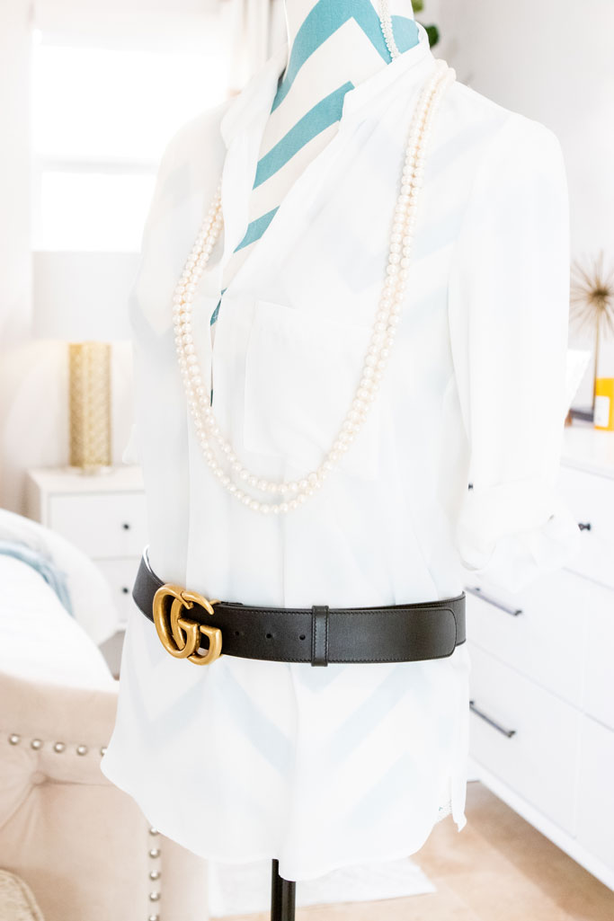 Blame it on Mei, @blameitonmei, Miami Fashion Mom Blogger, style solutions, how to secure excess belt or bag strap