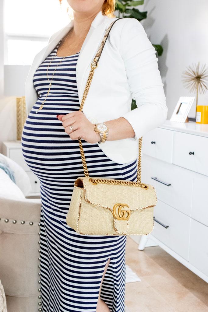 Blame it on Mei, @blameitonmei, Miami Fashion Mom Blogger, style solutions, how to shorten handbag strap