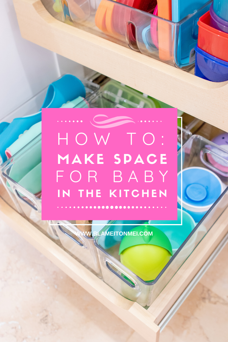 Blame it on Mei, @blameitonmei, Miami Lifestyle Blogger, How to make space for baby
